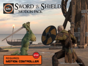 Sword and Shield Motion Pack