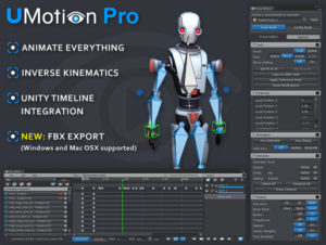 UMotion Pro – Animation Editor