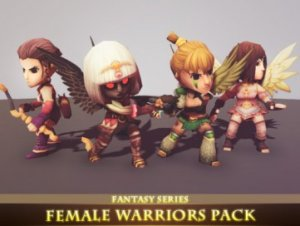 Female Warriors Pack