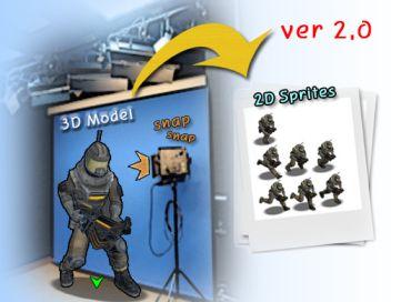 Sprite Baking Studio (3D to 2D)