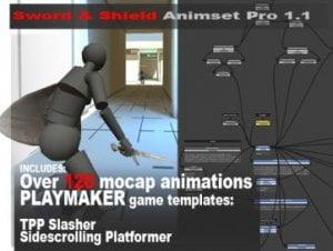 Sword and Shield Animset Pro
