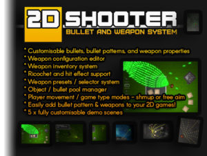 Read more about the article 2D Shooter Bullet and Weapon System