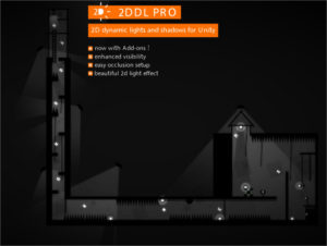 2DDL Pro: 2D Dynamic Lights and Shadows