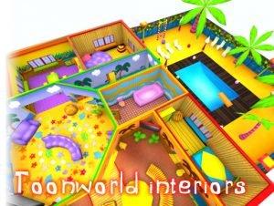 3DRT-Toonworld Interiors
