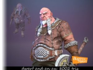 Dwarf-Warrior
