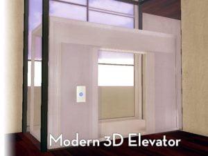 Modern Elevator (3D)
