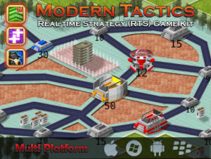 RTS – Real time strategy game kit (Modern Tactics)