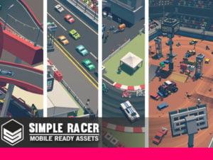 Simple Racer – Cartoon Assets