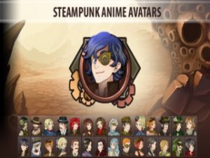 STEAMPUNK ANIME AVATARS