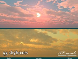 """55 Skybox"" pack"