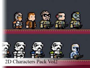 2D Pixel-Art Characters Vol. 2