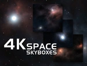 4K Space Skyboxes