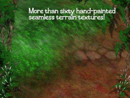 60+ Painterly Terrain Textures