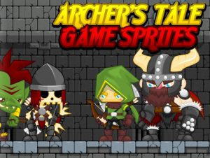 Archers Tale Game Sprites