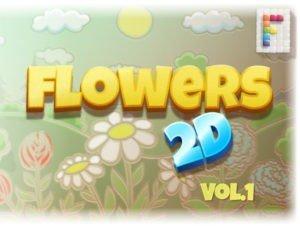 Flowers 2D Vol 1