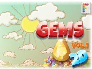 Gems 2D Vol 1