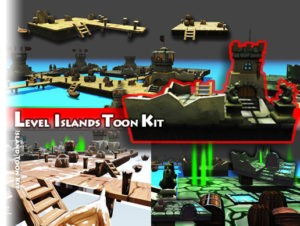 Level Island Toon Kit Pack