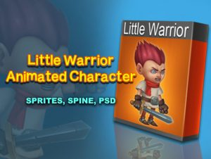 Little Warrior Character