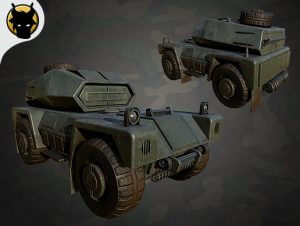 Realistic Military Vehicles Scout