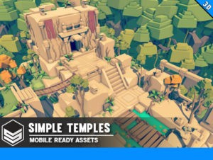 Simple Temples – Cartoon Assets
