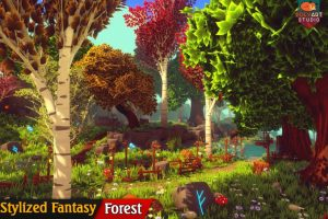 Stylized Fantasy: Forest Environment