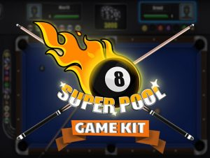 Super Pool Billiard Game UI Kit