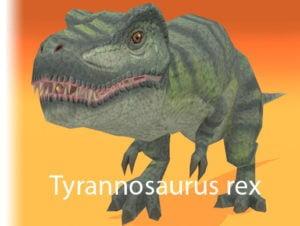 Tyrannosaurus rexdinosaur