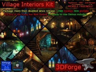 Village Interiors Kit