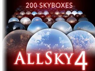 AllSky – 200+ Sky / Skybox Set