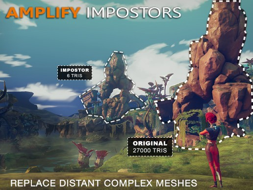Amplify Impostors