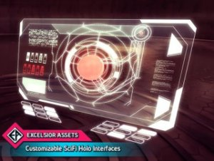 Customizable SciFi Holo Interface