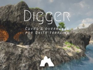Digger – Terrain Caves & Overhangs