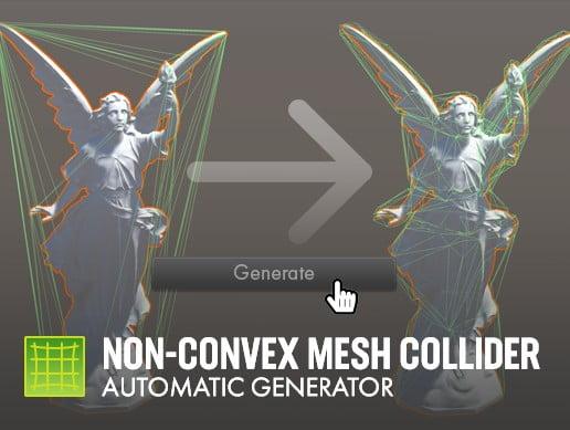 Read more about the article Non-Convex Mesh Collider. Automatic Generator