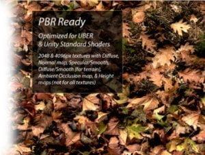 PBR Terrain Textures for Unity 5