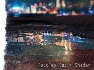 Puddle Set + Shader