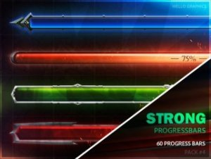 50+ Progress Bars [Pack 4] — DANGEROUS PROGRESS