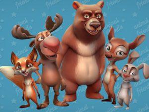 Animal-Friends-Forest-Animals-300x226