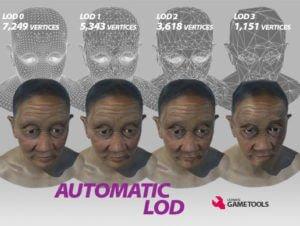 Automatic LOD