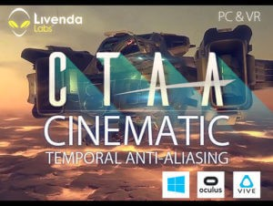 CTAA Cinematic Temporal Anti-Aliasing PC & VR