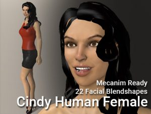 Cindy – Human Female