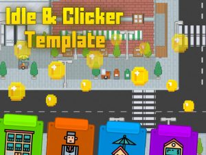 Clicker-Idle Game Template