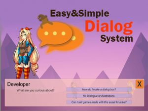 Easy Simple Dialog System