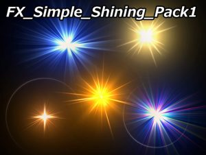 FX Simple Shining Pack1