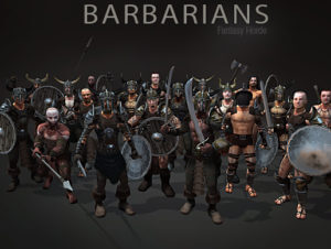 Fantasy Horde – Barbarians