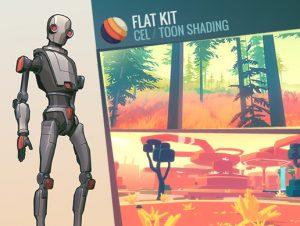 Flat Kit Cel Toon Shading