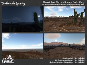 Gaia Stamps Pack Vol 03 – Desert Area