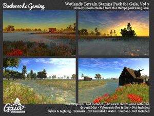 Gaia Stamps Pack Vol 07 – Wetland Area