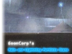 GoonCorps Rain and Lightning Particles