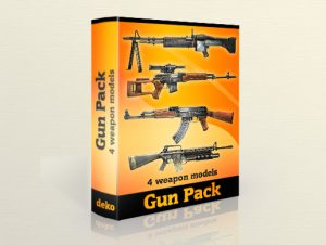Gun-pack-Lowpoly-models-300x226
