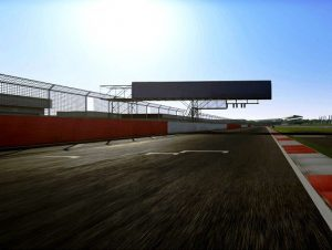 Highly Detailed Racing Circuit